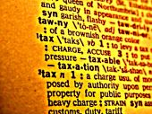 Dictionary Tax