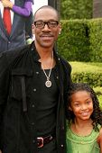 Eddie Murphy and Yara Shahidi at the Los Angeles Premiere of 'Imagine That'. Paramount Pictures, Hollywood, CA. 06-06-09
