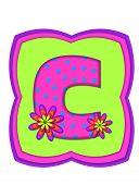 Alphabet Daisy Daze C