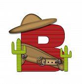 Alphabet Bandido B