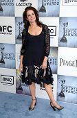 Debra Winger  at the 2009 Film Independent's Spirit Awards. Santa Monica Pier, Santa Monica, CA. 02-21-09
