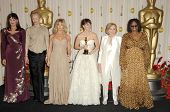 Anjelica Huston, Tilda Swinton, Goldie Hawn, Penelope Cruz, Eva Marie Saint and Whoopi Goldberg  in