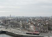 Amsterdam City Scape With Buses