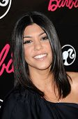 Kourtney Kardashian  at Barbie's 50th Birthday Party. Barbie's Real-Life Malibu Dream House, Malibu, CA. 03-09-09