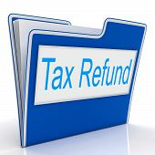 Tax Refund Represents Taxes Paid And Administration