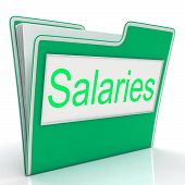 Salaries File Represents Salary Stipend And Document