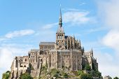 foto of michel  - View to Mount St Michel in Normandy France - JPG