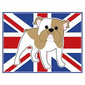 English Bulldog Flag