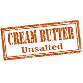 Cream Butter-stamp
