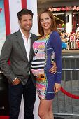 LOS ANGELES - JUN 30:  Kyle Martino, Eva Amurri Martino at the