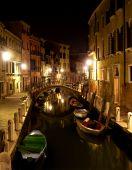 Venice - canal in night