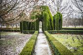 Garden castle.Palace of Aranjuez, Madrid, Spain