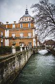 Tajo river, jardin de la isla. Palace of Aranjuez, Madrid, Spain