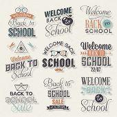 Back to School Calligraphic Design