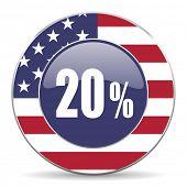20 percent american icon