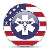 emergency american icon
