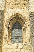 Medieval church window