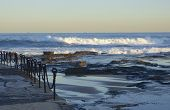 Breakers on Newcastle Beach, NSW, Australia