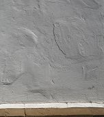 White Background, Lime Plaster Wall