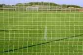 Net Soccer Goal Football Green Grass Field