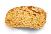 Slice Of Ciabatta.