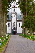 Church Sao Nicolau In Sete Cidades