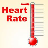 Heart Pulse Shows Degree Healthy And Heartbeat
