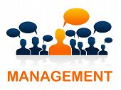 Manage Leader Indicates Authority Directors And Bosses
