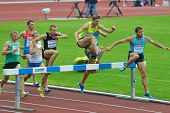 ZHUKOVSKY, MOSCOW REGION, RUSSIA - JUNE 27, 2014: Start of men 2000 meters during Znamensky Memorial