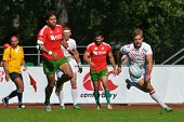 MOSCOW, RUSSIA - JUNE 29, 2014: Match for place 1 between England (white uniform) and Portugal durin