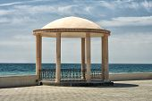 Gazebo By The Sea.
