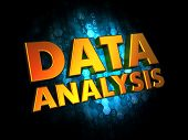 Data Analysis Concept on Digital Background.