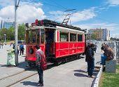 Nostalgic Istiklal Caddesi Tram