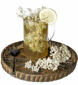 Elder Flower Juice With Lemon