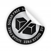 Sugar Free Bent Sticker