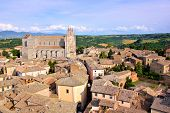 Picturesque Italian hill town