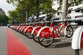 Bicing Vodafone - Barcelona Spain