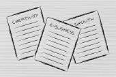 Business Documents: Creativity, E-business, Growth