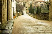 tipical houses.Tuscany