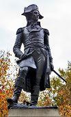 Kosciuszko Statue Lafayette Park Autumn Washington Dc