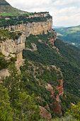 Постер, плакат: Известняковые скалы в Tavertet Каталония Испания