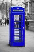 foto of phone-booth  - Famous telephone booth in London - JPG