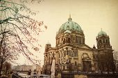 Vintage Berlin Cathedral Church Dom