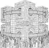 Futuristic Megalopolis City S...