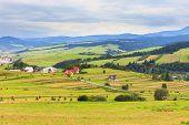 View From Spisz To The Tatra Mountains, Poland