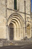 Saint Emilion ancient gothic church, Aquitaine, France