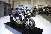 Bangkok - November 28: Agusta Dragster 800 Motorcycle On Display At The Motor Expo 2014 On November