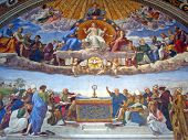 Fresco in Vatican Museums