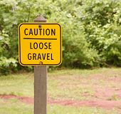 Loose Gravel Sign