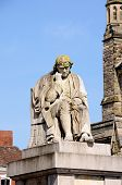 Dr John Statue, Lichfield.